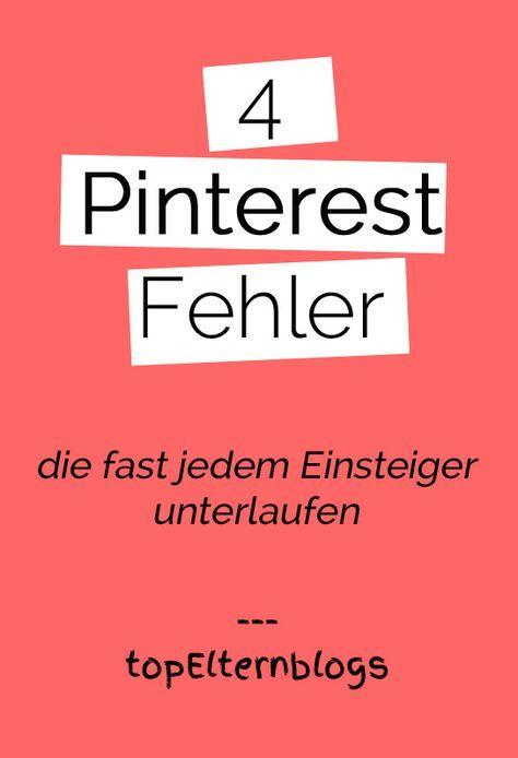 4 Pinterest-Fehler, die fast jedem Einsteiger unterlaufen – Katrin Bauer
