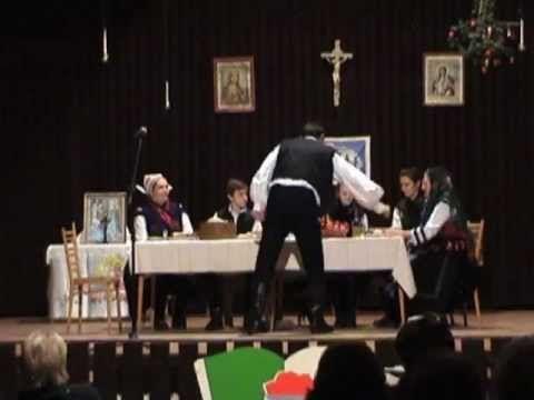 Karácsonyi vacsora, Kántálás - A Gímesi hagyományőrző csoport - YouTube