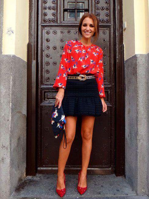 Qué mona va esa chica siempre-Paula Echevarría!!! | Caprichos de moda