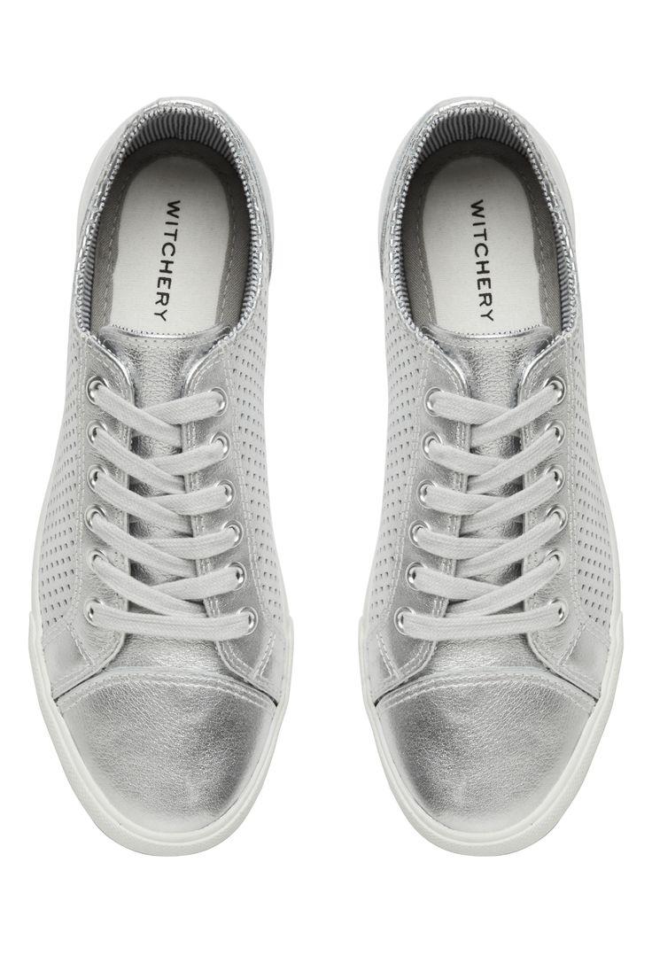 Witchery OCRF Silver Sneakers #witcherywishlist