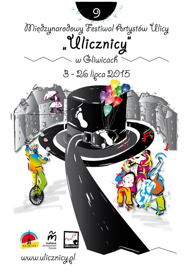 """Plakat """"Ulicznicy"""" #plakat #konkurs #ulicznicy #gliwice #jarlew75"""