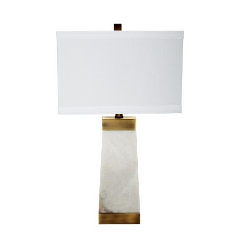 Ivory Marble Table Lamp Must Have Neutrals Pinterest Marbles
