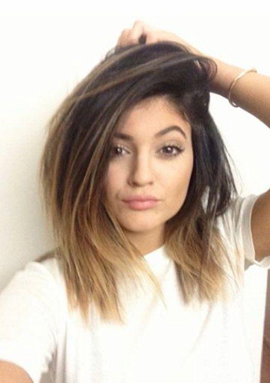 Mechas californianas para cabello corto