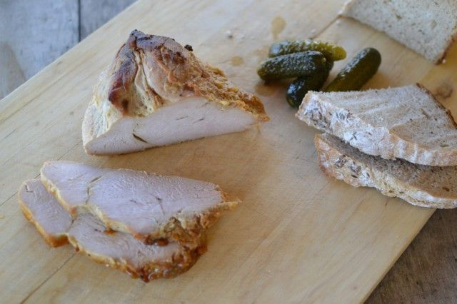 Pomalu pečená krůtí prsa | Slow Bake Turkey Breasts