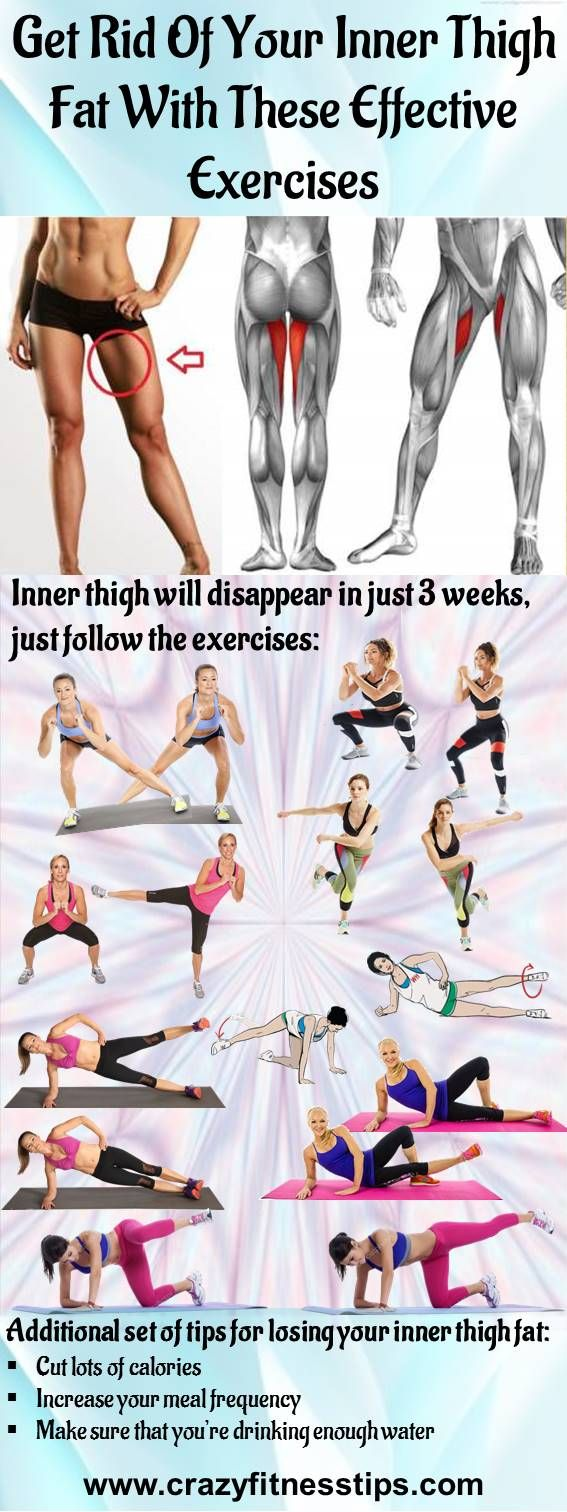 Get Rid Of Your Inner Thigh Fat With These Effective Exercises