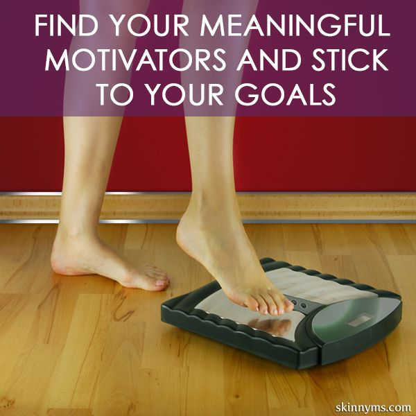 Sticking to your goals can be tough but it is MUCH easier with personal motivating factors.  Find out what yours are!