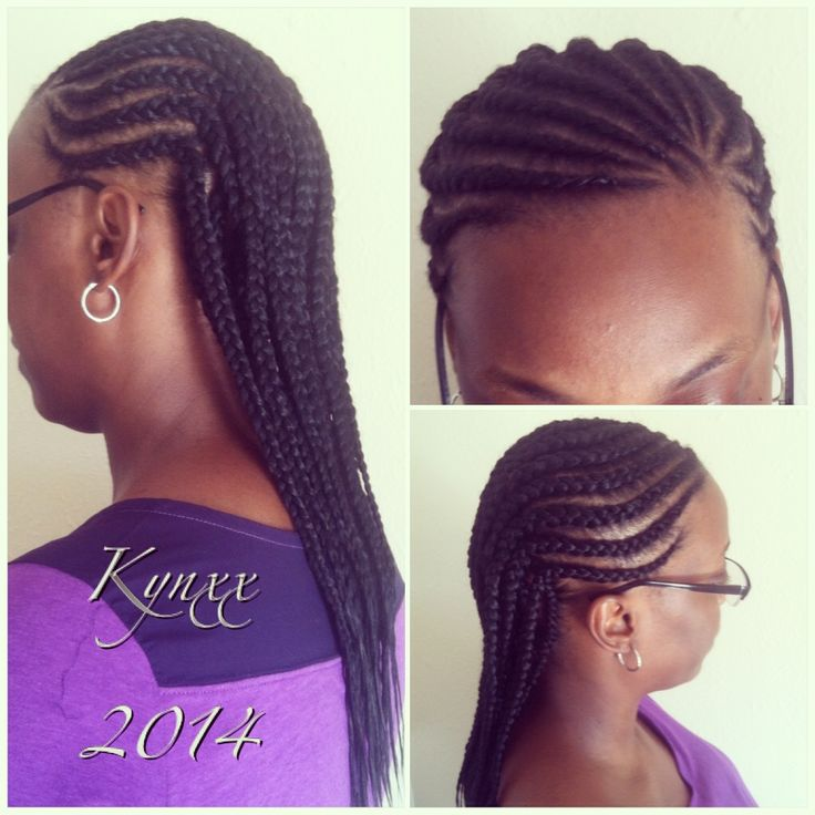 Graceful Lifestyle Two Layered Cornrow Style