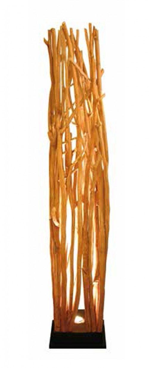 Lámparas de Pie de estilo etnico en madera : Modelo SKOVE