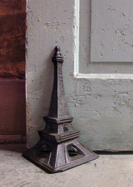 Eiffel Tower Door Stop Or Bookend $35.00