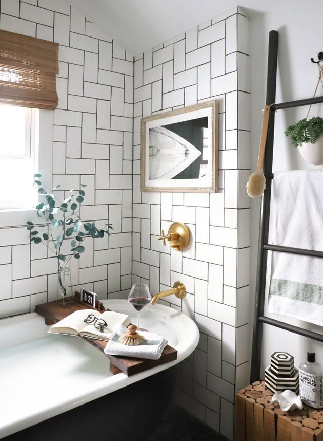 13 Freestanding Bathtub Ideas To Soak Away Your Daily Stress Hunker In 2020 Bathroom Trends Free Standing Bath Tub Diy Bathroom