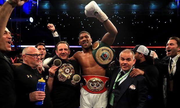 Anthony Joshua: The World Heavy Weight Champion - Sports - Nigeria