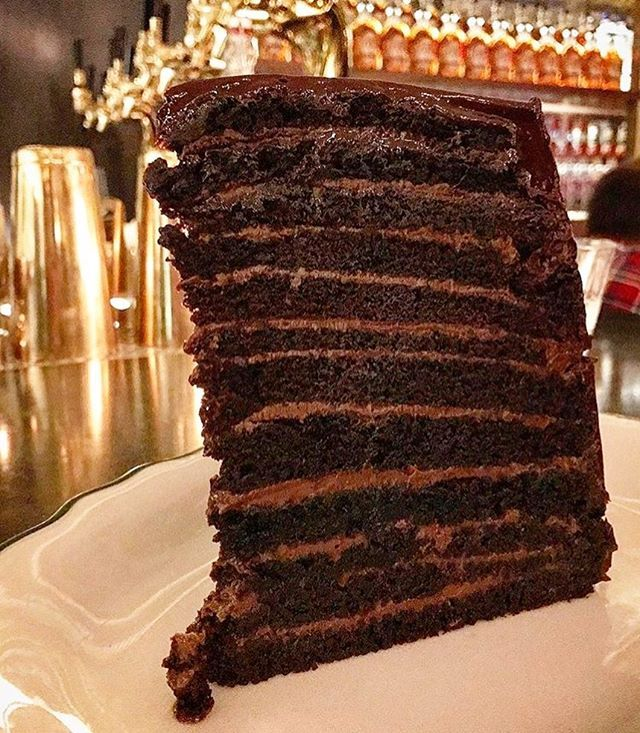 24 Layer Chocolate Cake At Jacob S Pickles Jacobs Pickles Chocolate Layer Cake Pickles