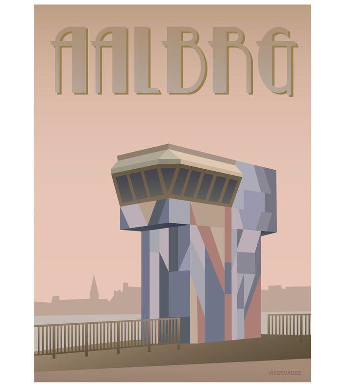 AALBRG - Limfjordsbroen. You can buy this piece at www.artrebels.com #artrebels #art #vissevasse