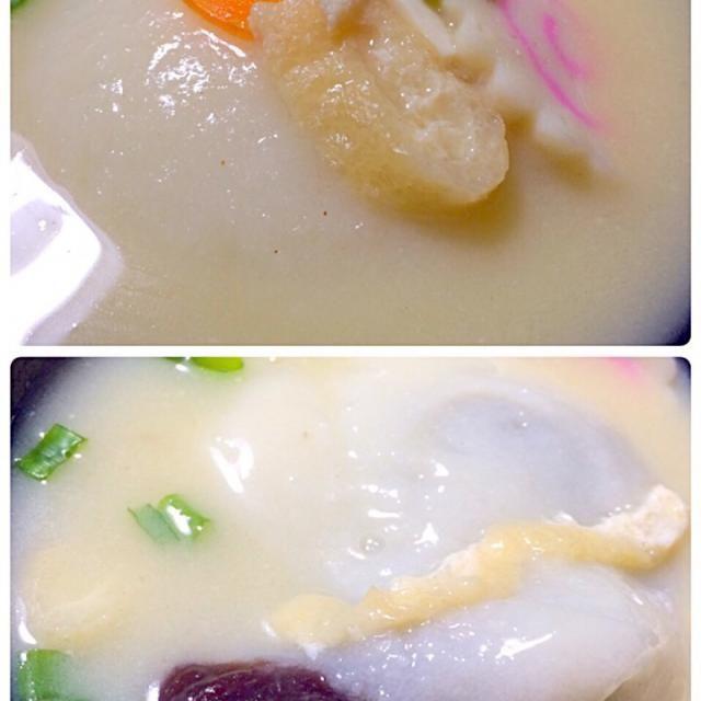 美味しかった^ ^ - 16件のもぐもぐ - 餡餅雑煮 by seabreeze