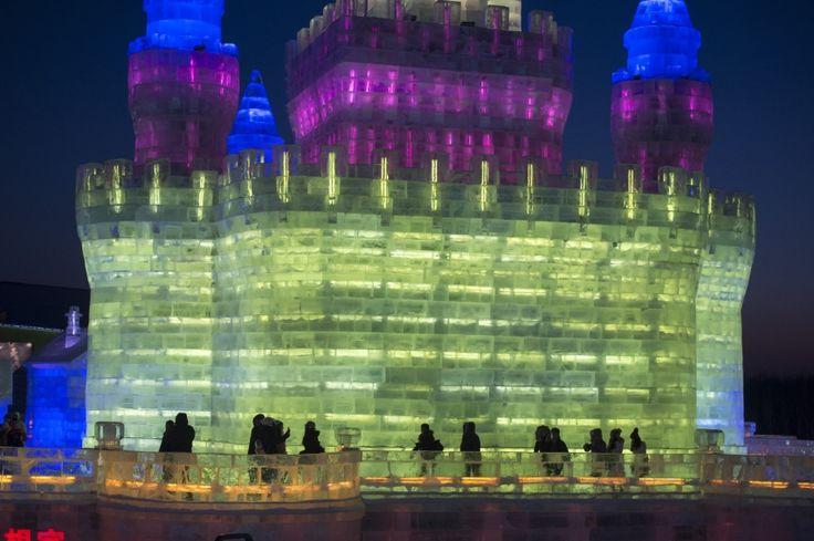 Harbin, China: Festival de Hielo/Ice Festival