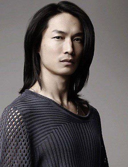 Glattes Haar, Lang, Rick, Portrait, Ureinwohner, Mora, Männer, Gesicht, Asiatisch