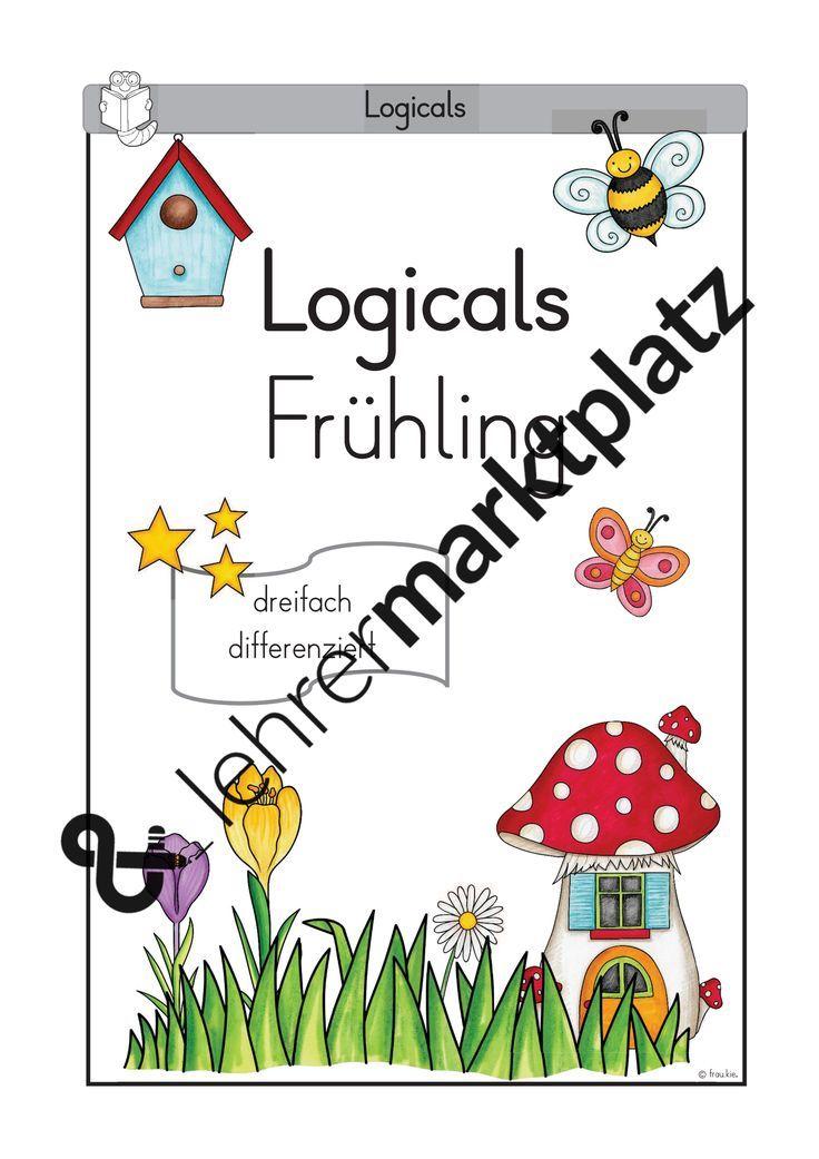 logicals frühling  unterrichtsmaterial in den fächern