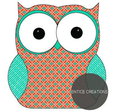 Owl! Please visit: www.enticecreations.wordpress.com or follow @enticecreations on Instagram