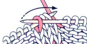 3 anelli incrociati scorretto con nakida | maglieria con aghi directory