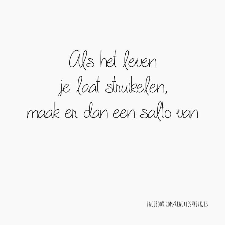 #leven #struikelen