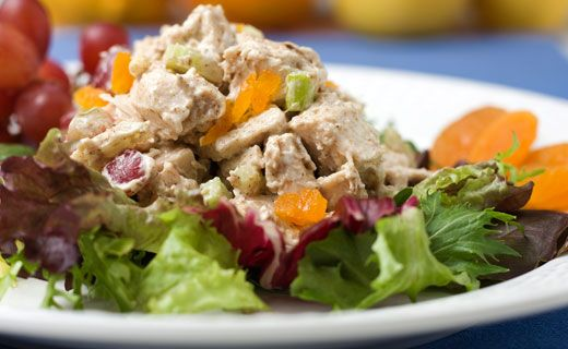 #Epicure Summer Citrus Chicken Salad (260 calories/serving)