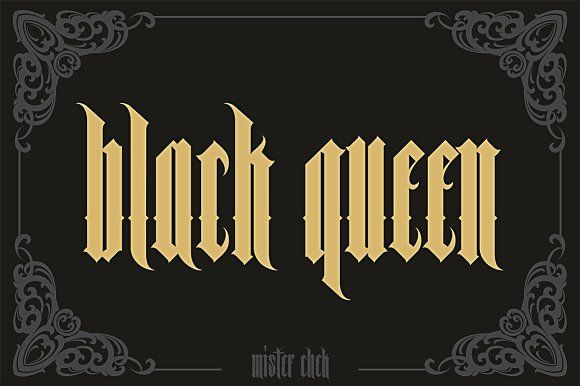 Black Queen by Mister Chek on @creativemarket