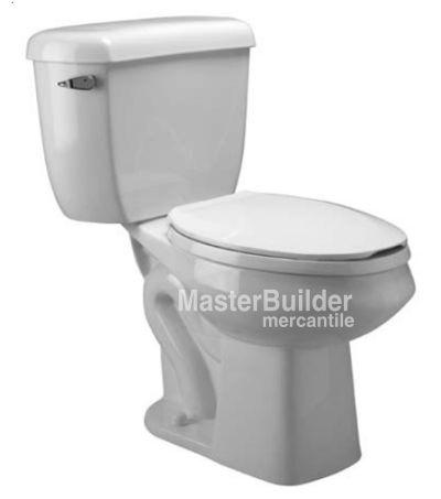 Zurn Z5577 Dual Flush Pressure Assist, Round Front, Two-Piece Toilet – MasterBuilder Mercantile Inc.