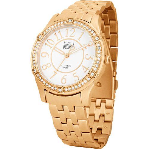 [AMERICANASMOB]Relógio Dumont Feminino Analógico Fashion Sp89029b - R$179,96