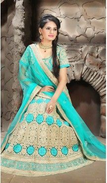 Turquoise Color Net A Line Style Traditional Lehenga | FH483274495 #heenastyle, #designer, #lehengas, #choli, #collection, #women, #online, #wedding , #Bollywood, #stylish, #indian, #party, #ghagra, #casual, #sangeet, #mehendi, #navratri, #fashion, #boutique, #mode, #henna, #wedding, #fashion-week, #ceremony, #receptions, #ring , #dupatta , #chunni , @heenastyle , #Circular , #engagement