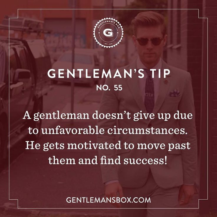 It's a brand new month, and that means a new Gentleman's Box and a blank slate when it comes to conquering your goals. What are you going to find success in this month? #GentlemansBox #GentlemansTip #BeSavvy
