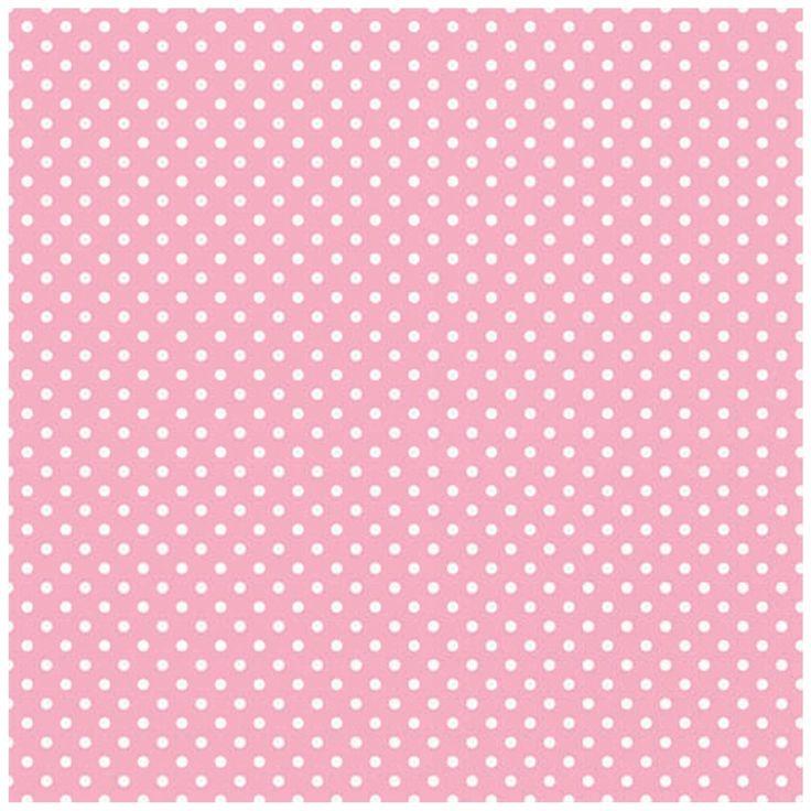 No.12: Light pink mini polkadots