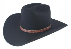cow boy hat. high-crowned, wide-brimmed hat that is used for farm and ranch workers in the western part of the United States. Cowboy hats have come to symbolize the Wild Wild West era where honor fighting and survival of the fittest were predominantly practiced. sabrina tan fd 1a2 reg no.14.