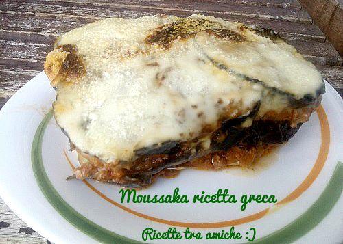 #Moussaka #ricetta #greca