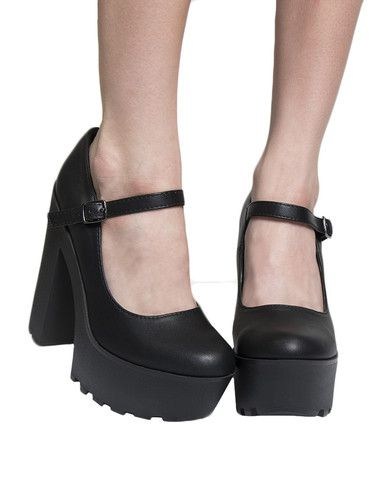 MARY JANE PLATFORM WEDGE