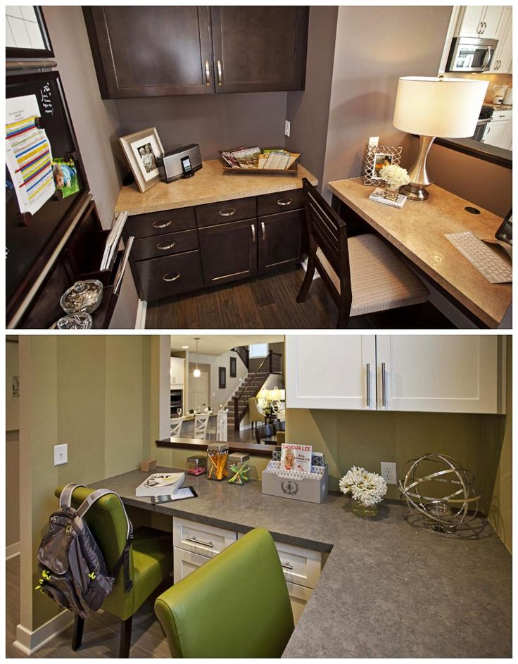 Which Pulte Planning Center® would suit your family's needs better, the top or bottom? | Pulte Homes