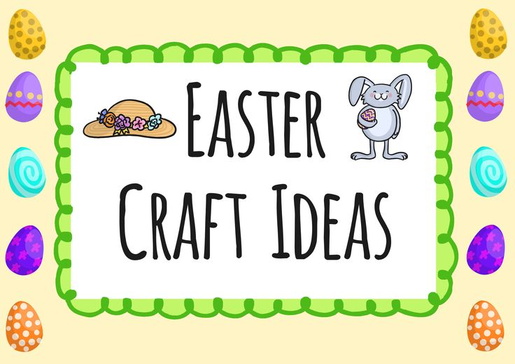 Easter Crafts - Twinkl | Easter activities, Easter ...
