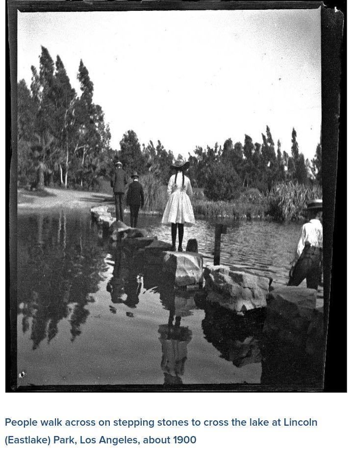 Lincoln Park 1900 Los angeles history, Vintage los