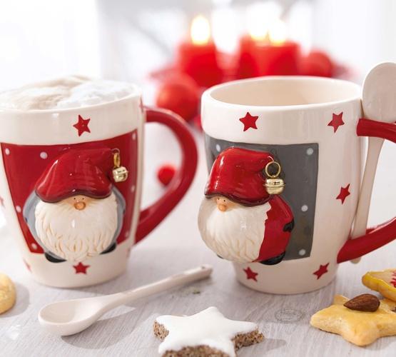 ber ideen zu weihnachtstassen auf pinterest servietten geschenk und adventskalender. Black Bedroom Furniture Sets. Home Design Ideas