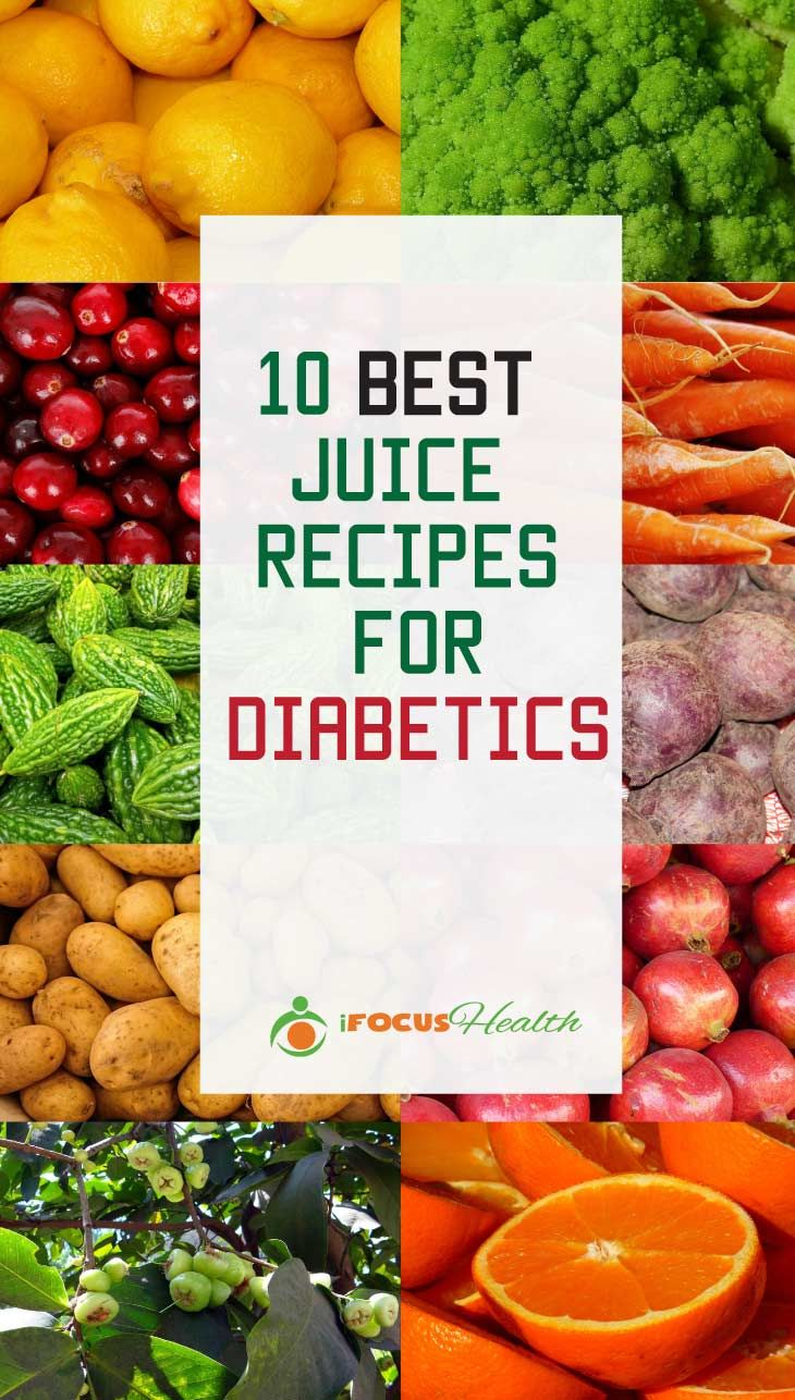 10 Best Juicing Recipes for Diabetics via @davebrik