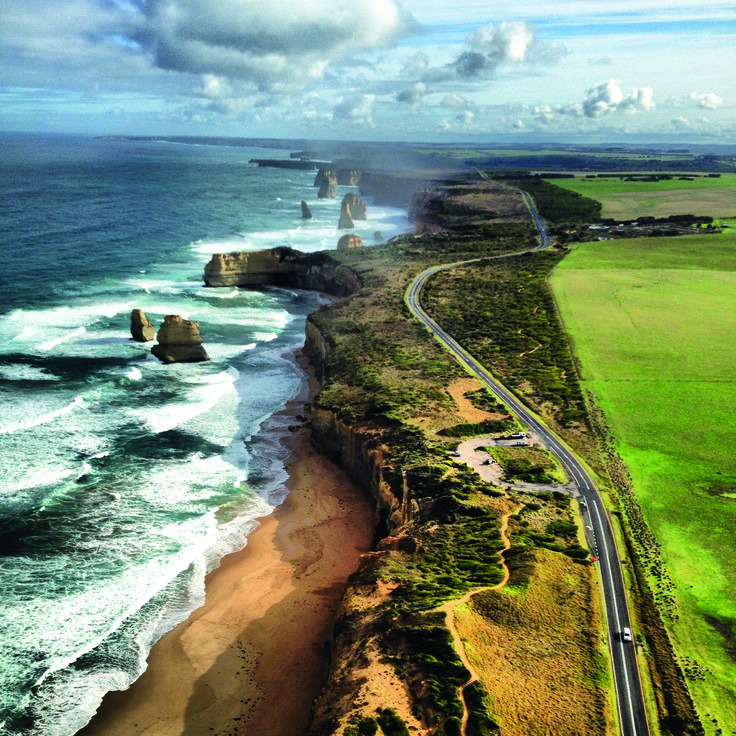 The best road trip in Australia? The Great Ocean Road... http://www.australiantraveller.com/australia/the-10-greatest-roadtrips-of-australia/