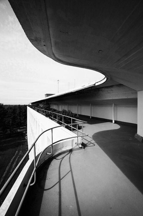 Alvar Aalto. Paimio Sanato for Turberculous 1931-2. Paimio, Finland