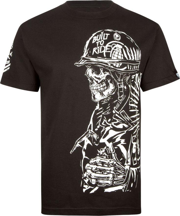 METAL MULISHA Metal Mulisha x Grenade Pull The Pin Mens T-Shirt 213745100 | Graphic Tees