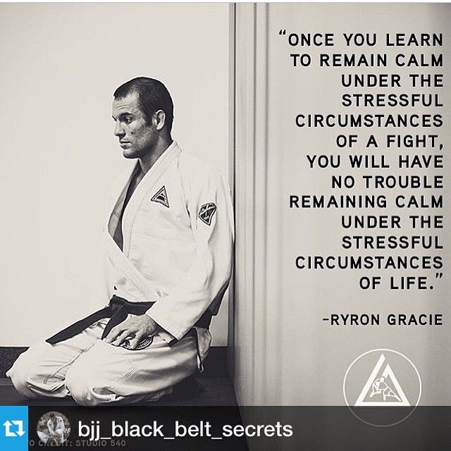 True, I feel much calmer thanks to abdominal breathing I learned at karate :)