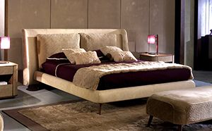 LEATHER BED ART AN1000