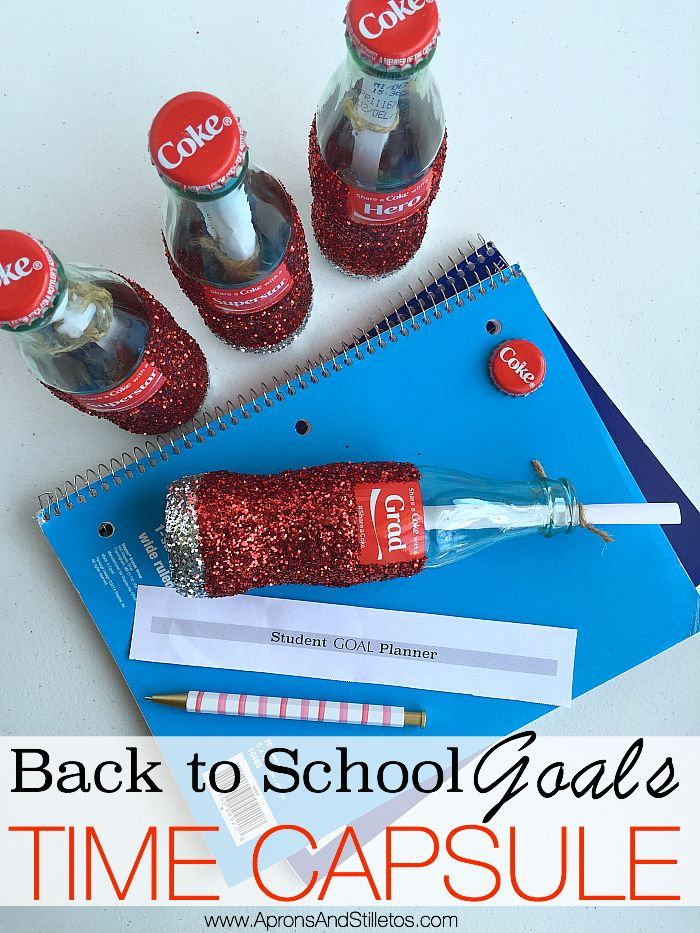 Our partner Saidah shows us how to make decorative back-to-school goals time capsules, a fun activity to set the tone for the school year with your kids.
