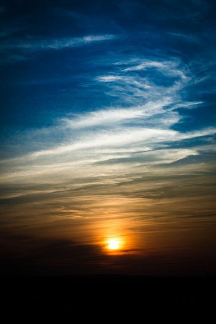 Sunset - Prague, Czech Republic;  photo by xskyven, via Flickr