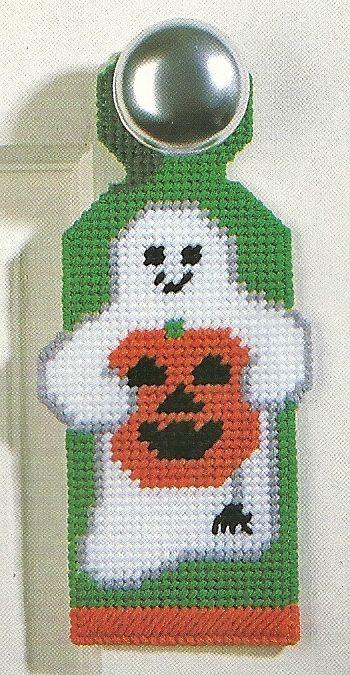 77 best Plastic Canvas Door Hangers images on Pinterest   Canvas ...