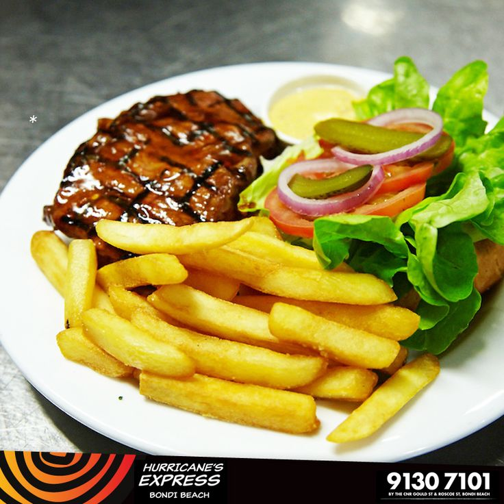 Prego steak roll exclusive to Hurricane's Express Bondi Beach and Hurricane's Grill Bondi Beach, Top Ryde and Surfers Paradise