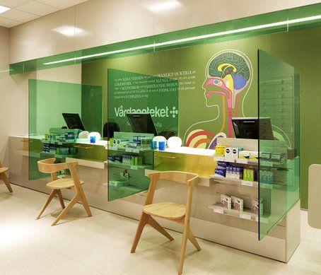 Pharmacy design: Swedish pharmacy Vårdapoteket graphic identity by Stockholm Design Lab | Hospital and Healthcare Design | Pinterest | Pharmacy design, Pharmac…