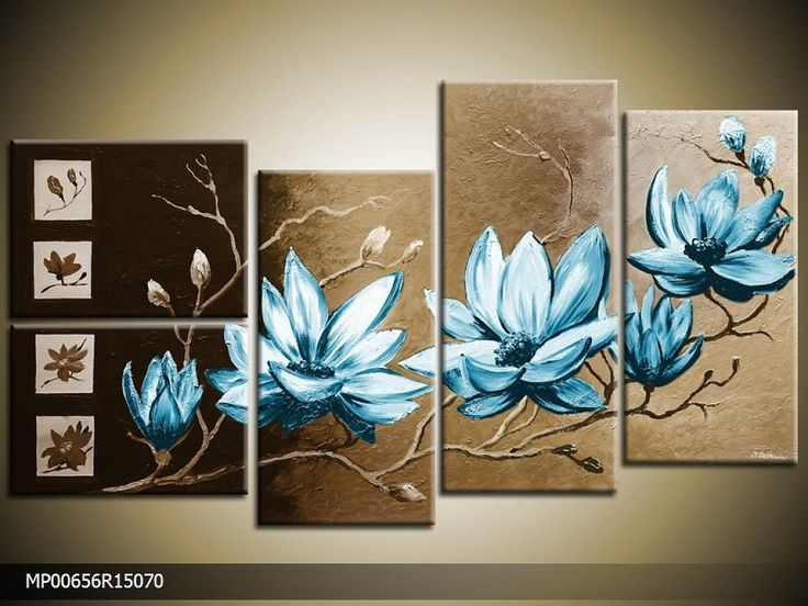 cuadros PINTADOS A MANO de galeriamaster | Decorar tu casa es facilisimo.com